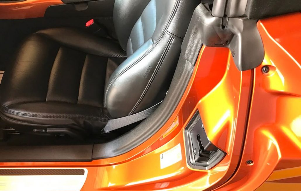 clean leather upholstery after auto detail with second 2 none detail